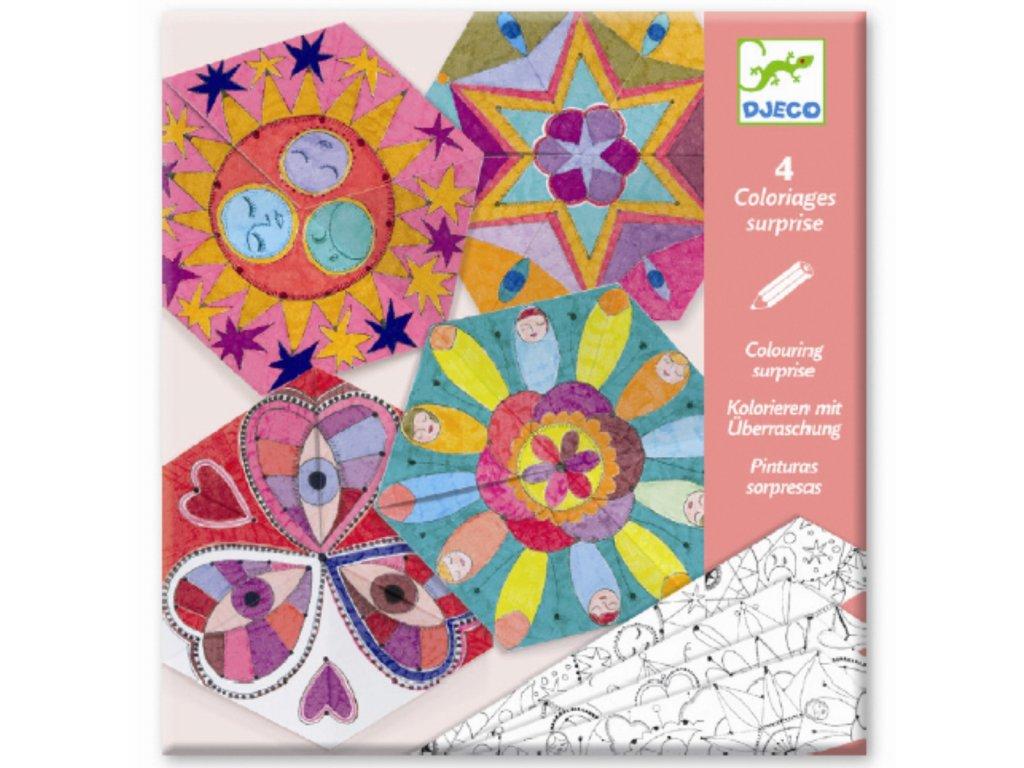 Origami - Hvězdné Mandaly