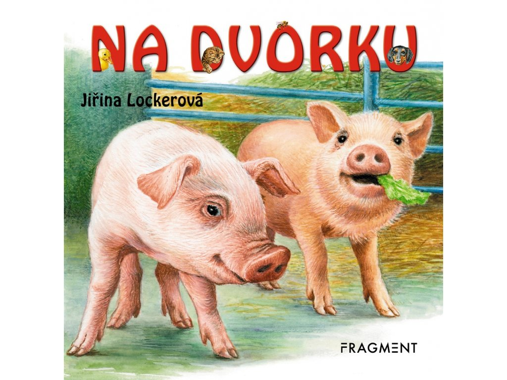 Fragment Na dvorku - Jiřina Beinstein Lockerová