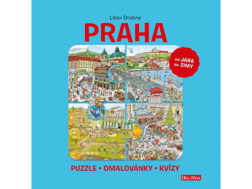 PRAHA – Puzzle, omalovánky, kvízy