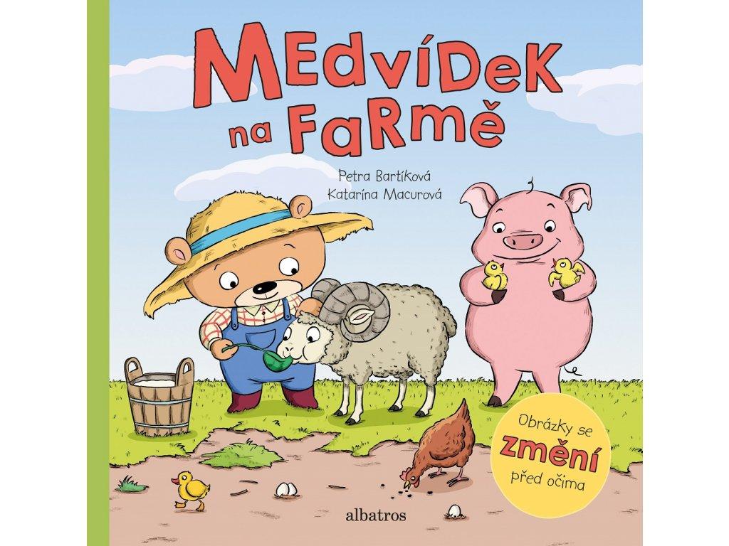 ALBATROS Medvídek na farmě - Petra Bartíková
