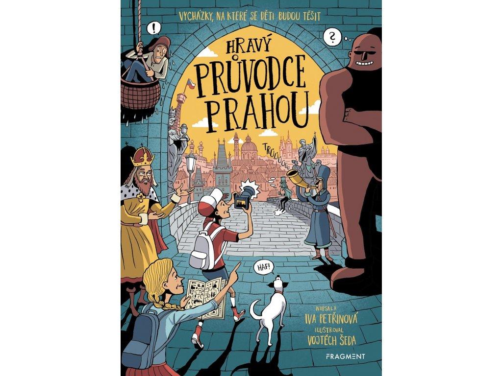 Fragment Hravý průvodce Prahou - Iva Petřinová