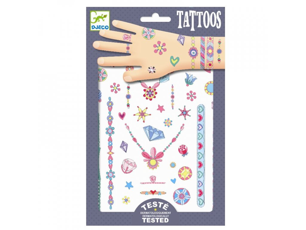 DJECO Tetování - Na parádu