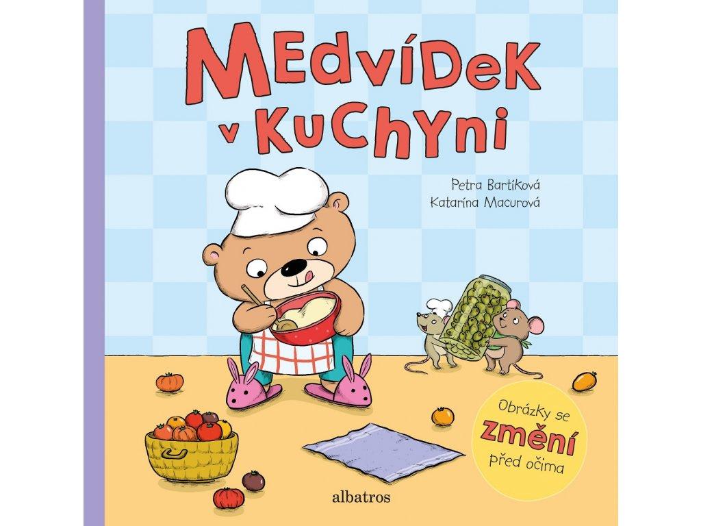 ALBATROS Medvídek v kuchyni - Petra Bartíková