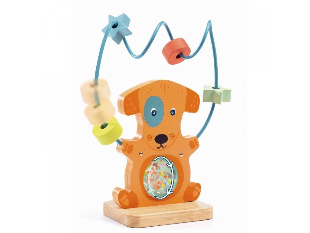 DJECO Chokko - Aktivní hračka pejsek