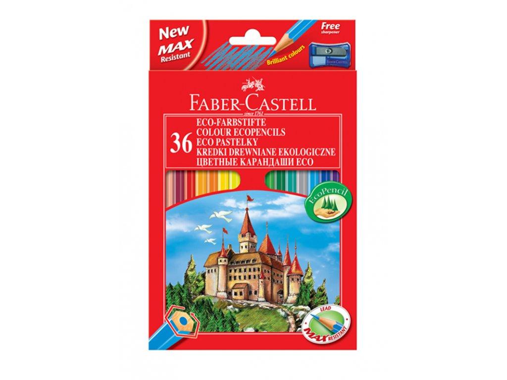 Faber-Castell Pastelky šestihranné, pap.krabička 36ks