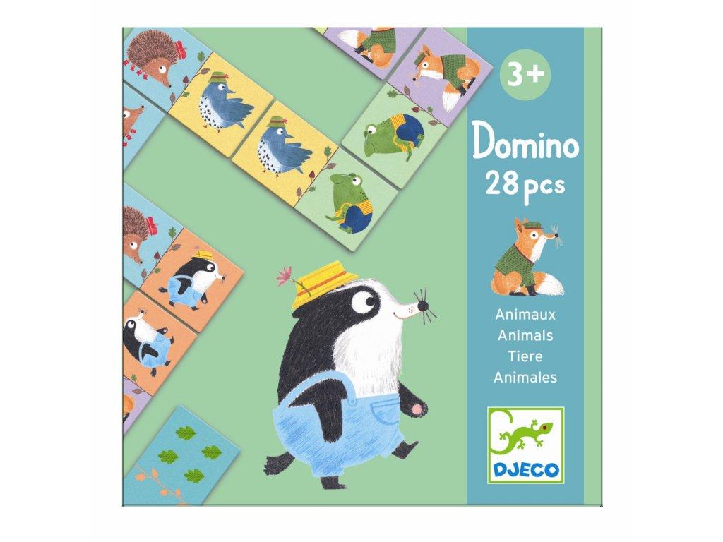 DJECO Domino - Lesní zvířátka