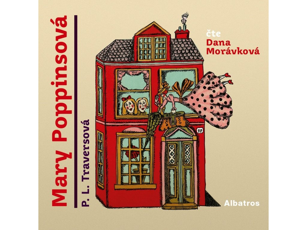 ALBATROS Mary Poppinsová (audiokniha pro děti) - P. L. Traversová