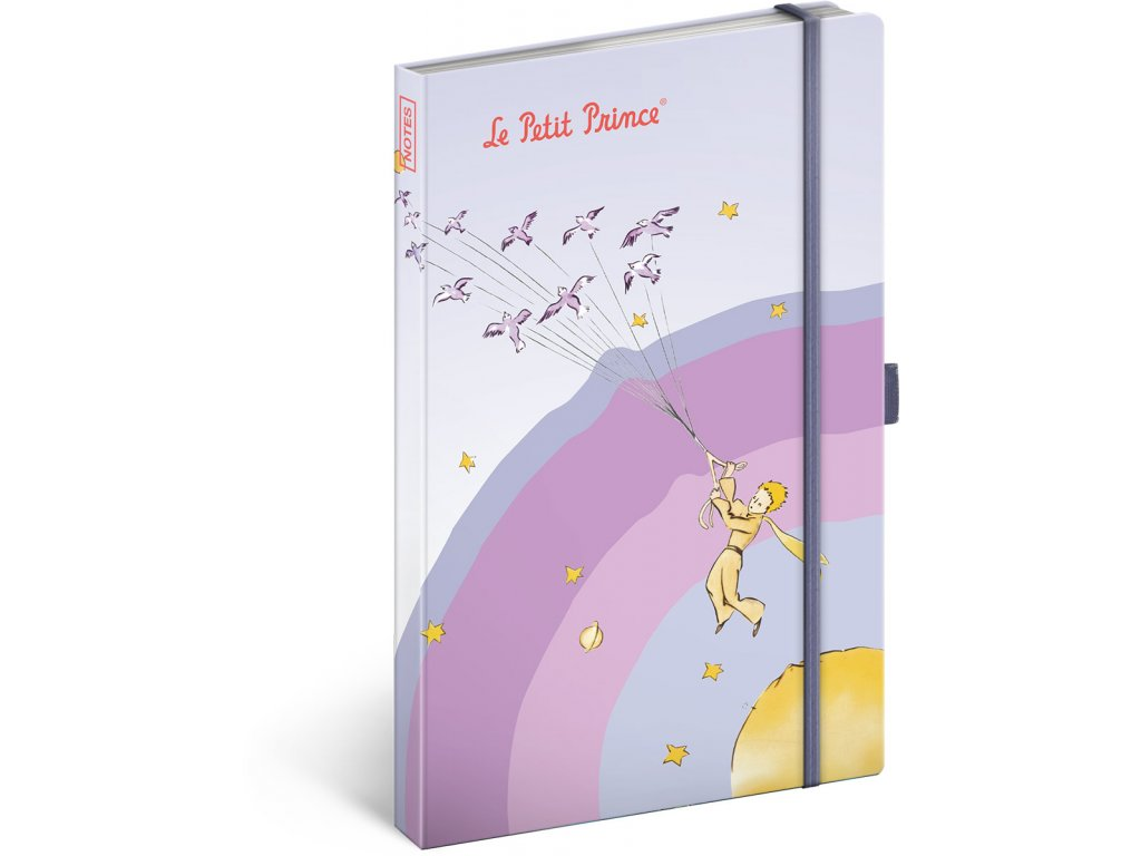 Notes Malý princ – My Planet, linkovaný, 13 x 21cm