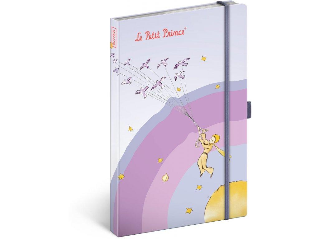 PRESCO GROUP Notes Malý princ – My Planet, linkovaný, 13 x 21cm