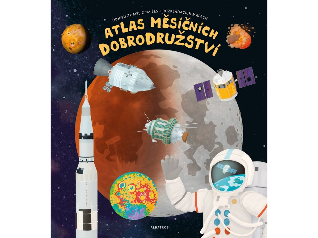 ALBATROS Atlas měsíčních dobrodružství - Pavel Gabzdyl