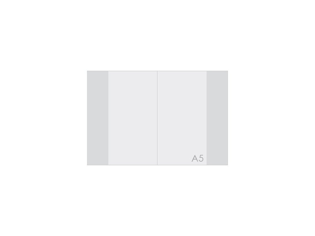 Obal na sešit A5 PP silný transparentní 110 mic / 1ks