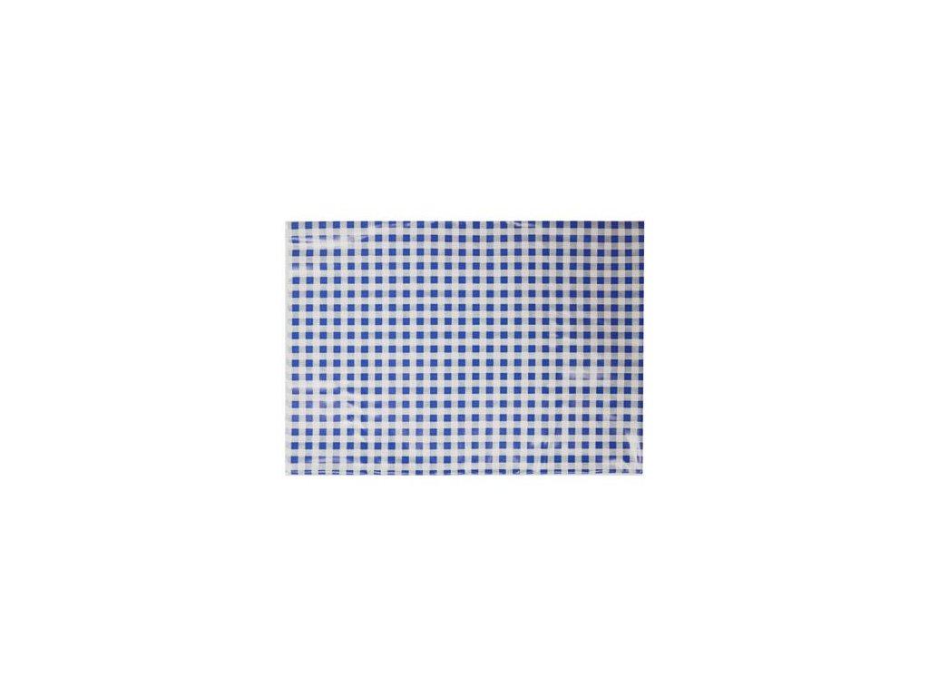 Ubrus na výtvarnou výchovu 65x50 cm modro-bílý
