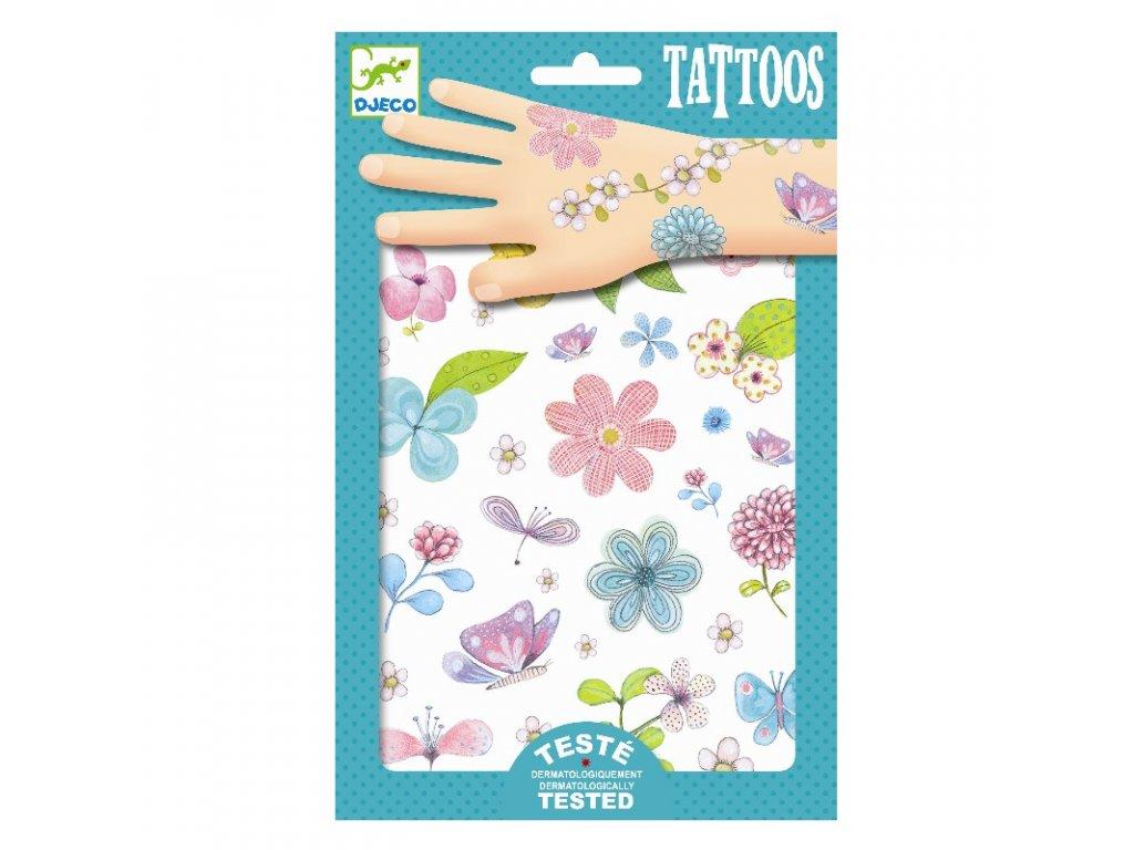 DJECO Tetování - Květinové pole