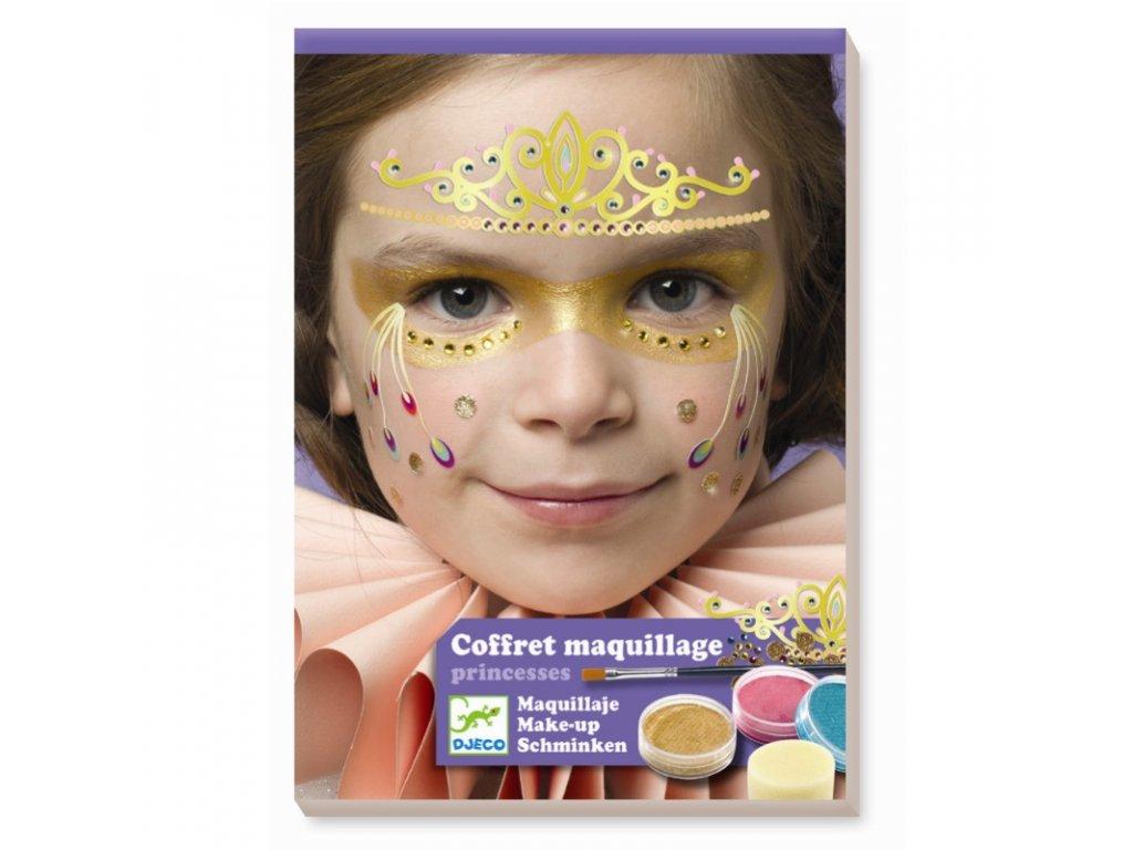 DJECO Malování na obličej - Princezny
