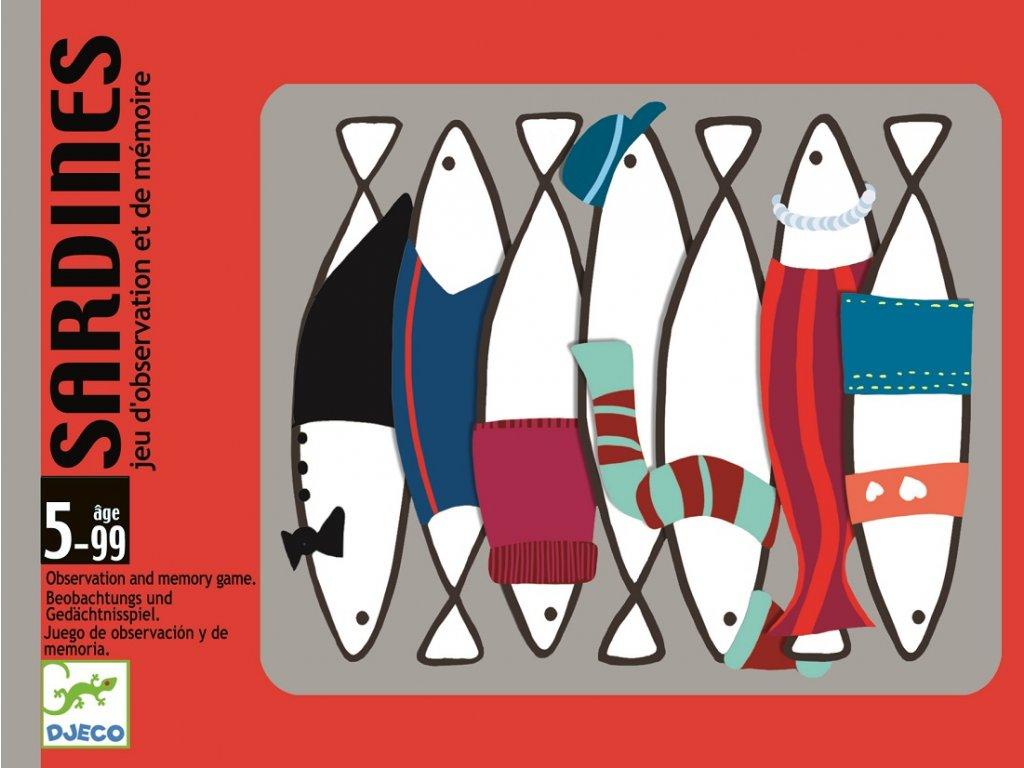 DJECO Karetní hra - Sardinky