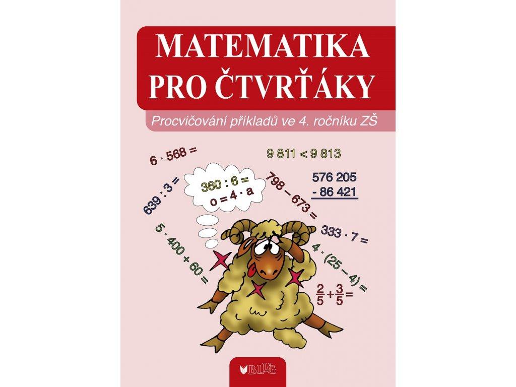 BLUG Matematika pro čtvrťáky - Vlasta Blumentrittová