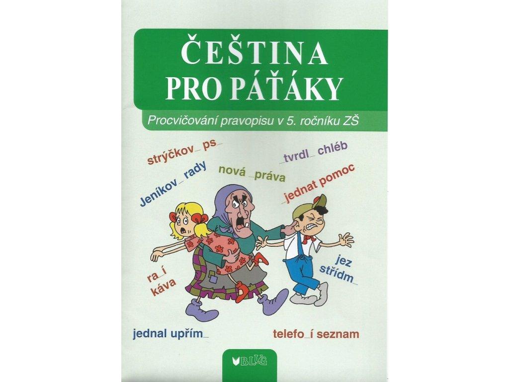 BLUG Čeština pro páťáky - Vlasta Blumentrittová