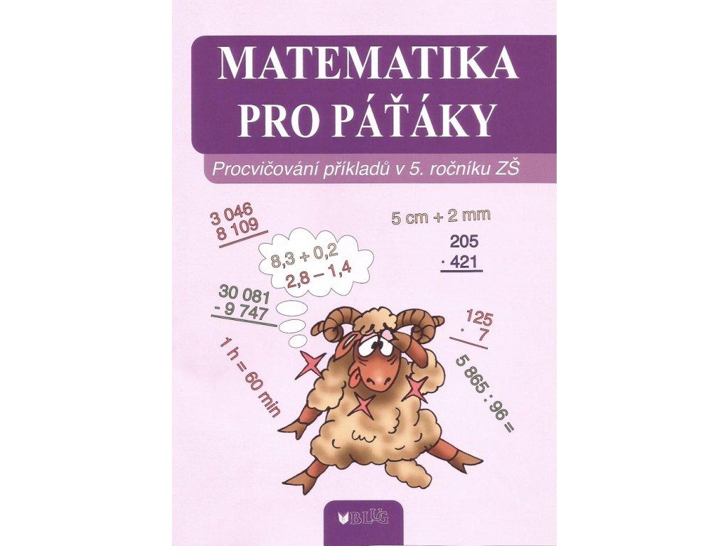 BLUG Matematika pro páťáky - Hana Daňková