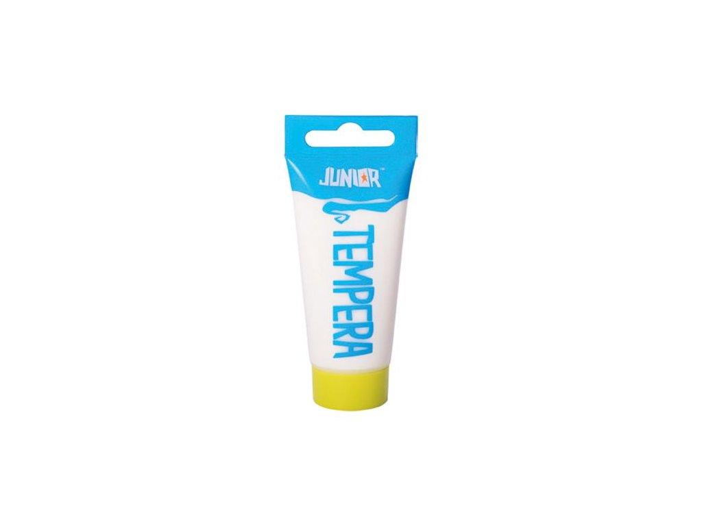 Temperová barva JUNIOR 40 ml bílá