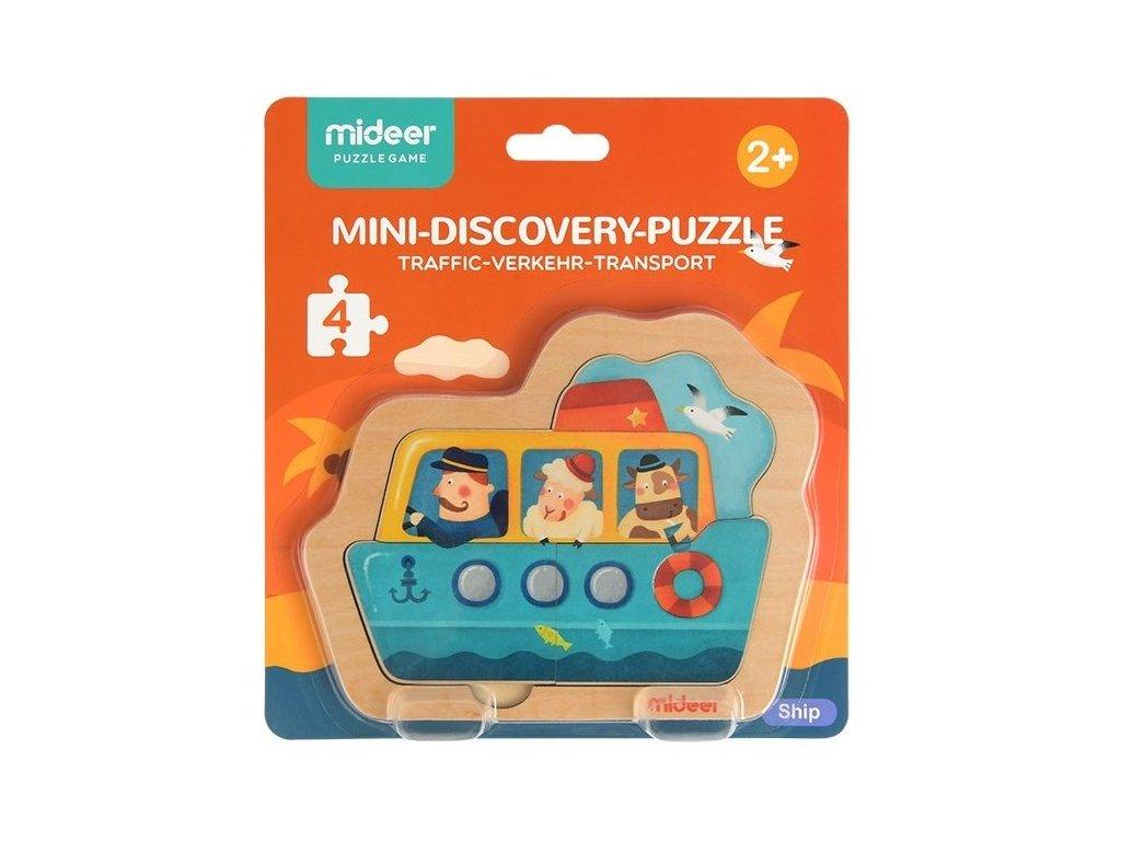 mideer Puzzle mini - Loď