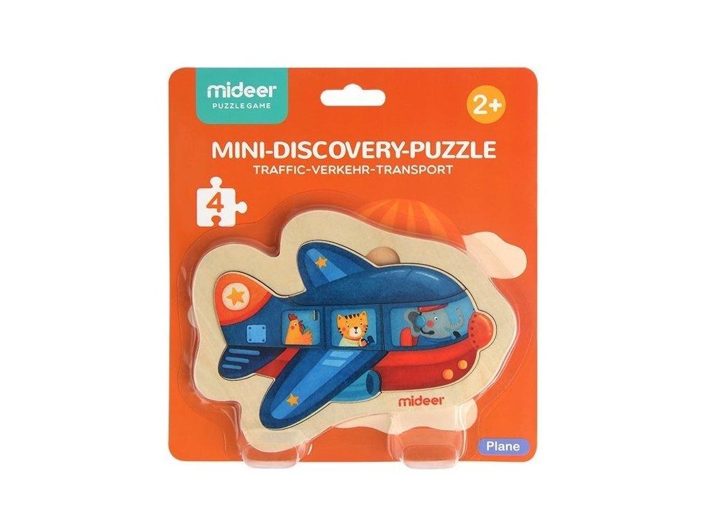 mideer Puzzle mini - Letadlo