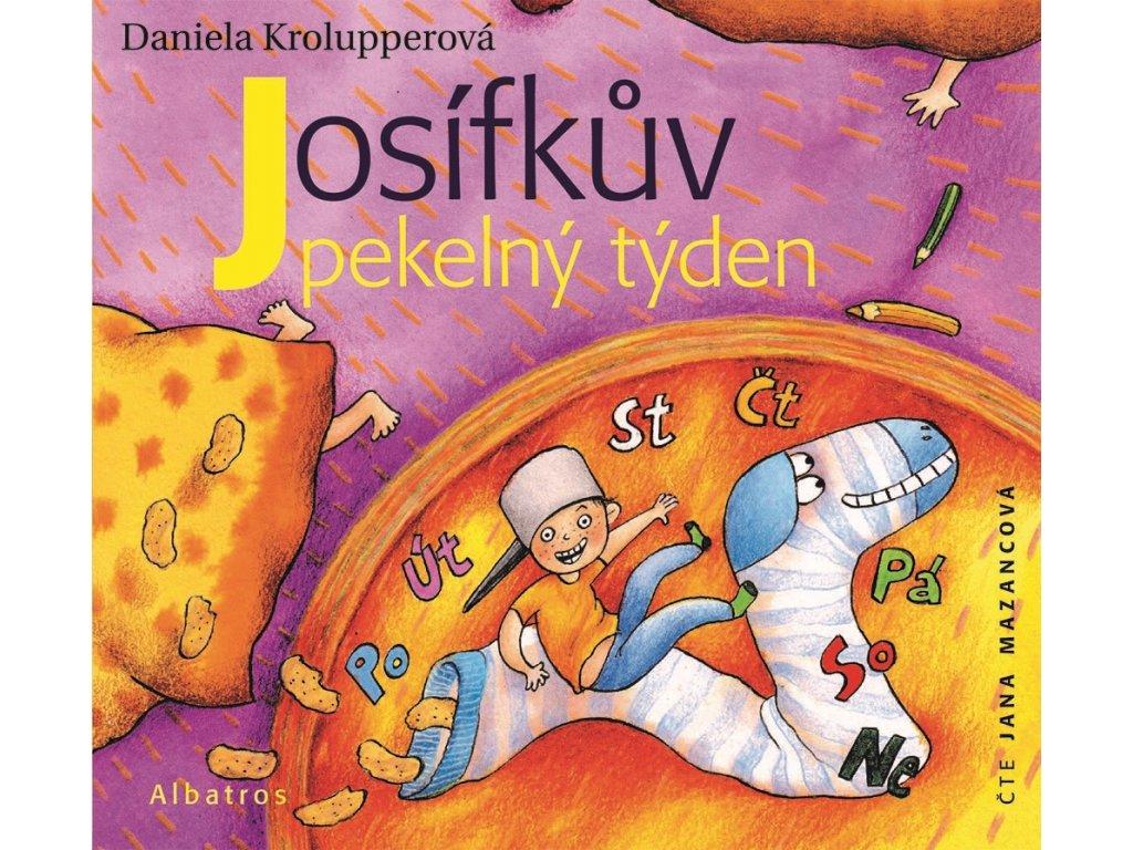 ALBATROS Josífkův pekelný týden (audiokniha pro děti) - Daniela Krolupperová