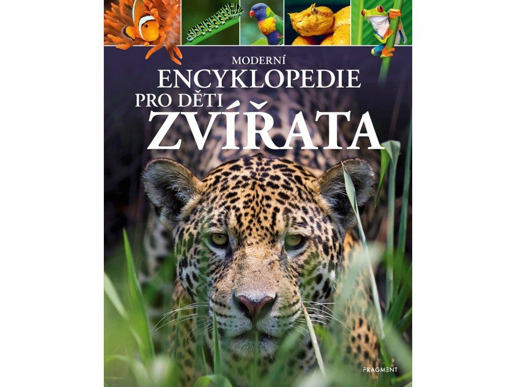 Fragment Moderní encyklopedie pro děti - Zvířata -  Michael Leach, Meriel Lland