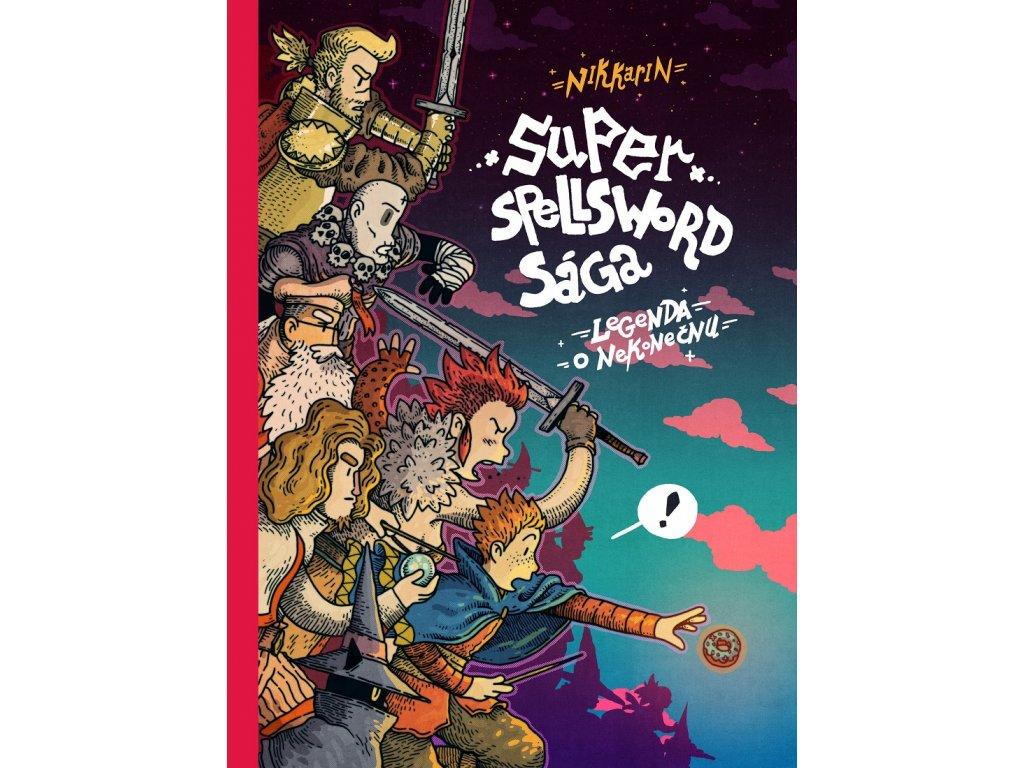Labyrint Super Spellsword Saga - Nikkarin