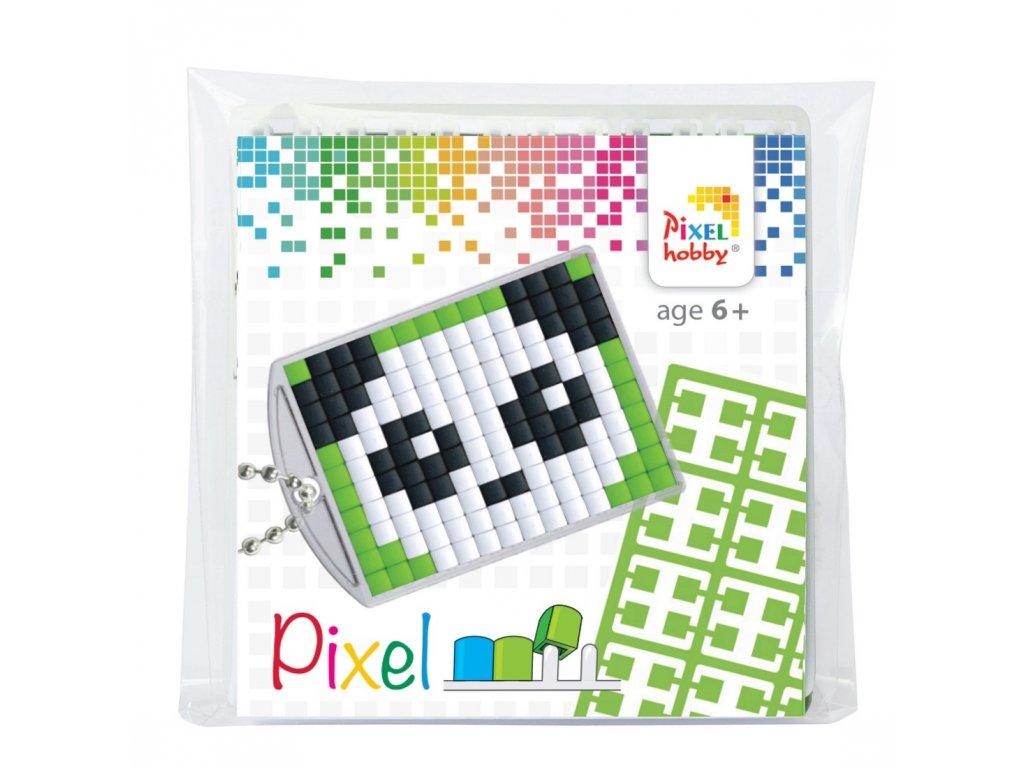 Sada na vytvoření klíčenky - Panda