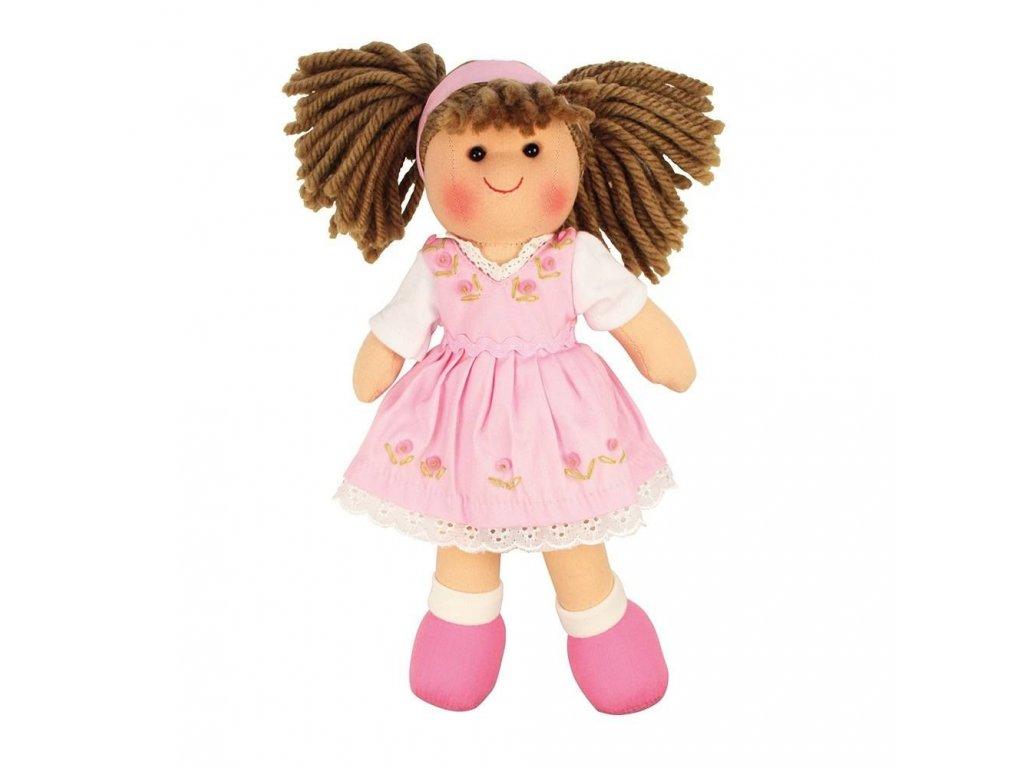 Látková panenka Rose 28 cm