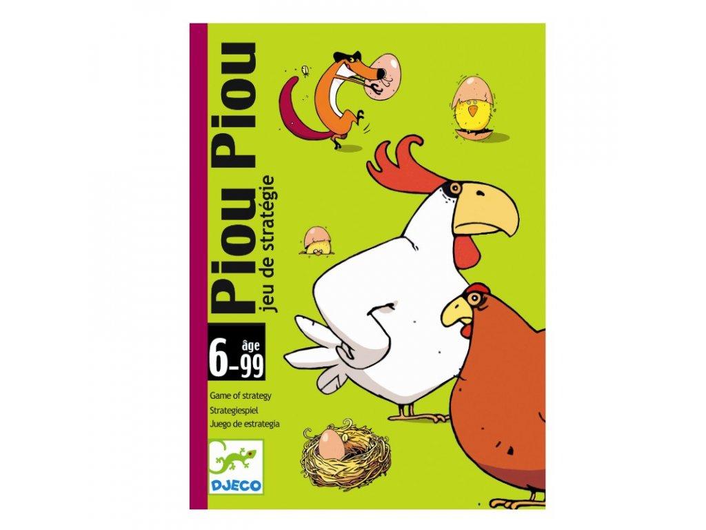DJECO Karetní hra - Piou Piou