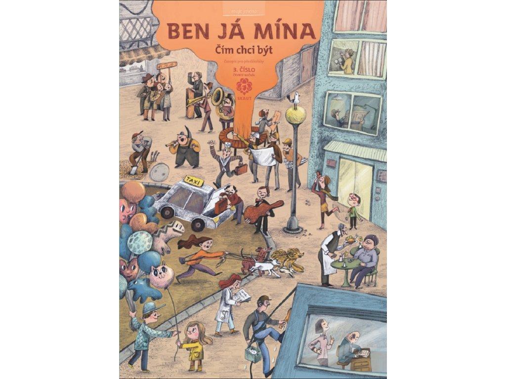 Časopis Ben Já Mína Čím chci být