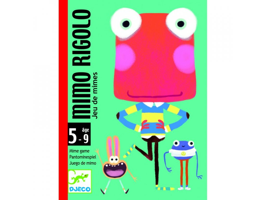 DJECO Karetní hra - Mimo Rigolo