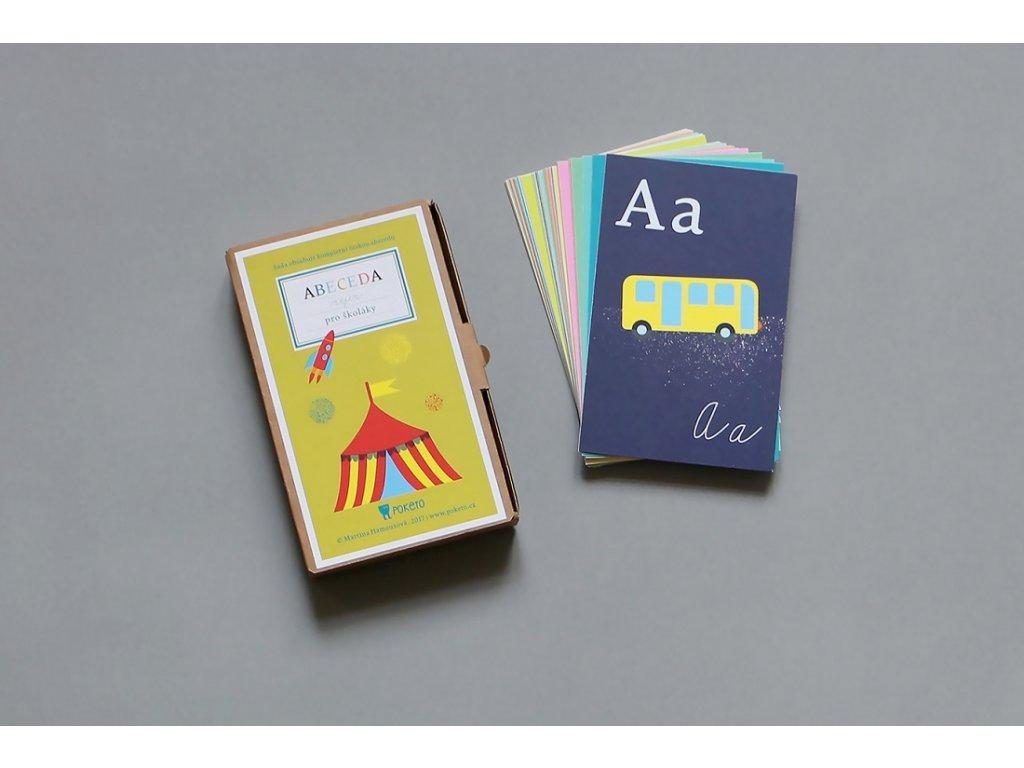 Vzdělávací kartičky - Abeceda nejen pro školáky