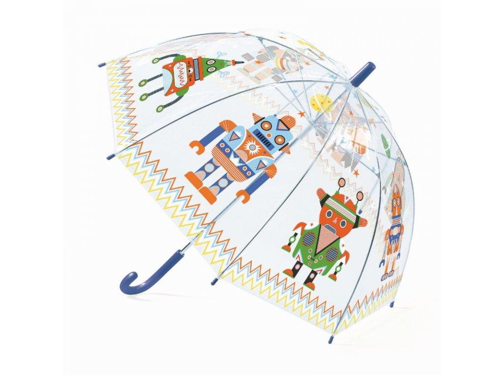DJECO Deštník - Roboti