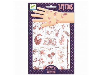Tetování - Léto v růžovém