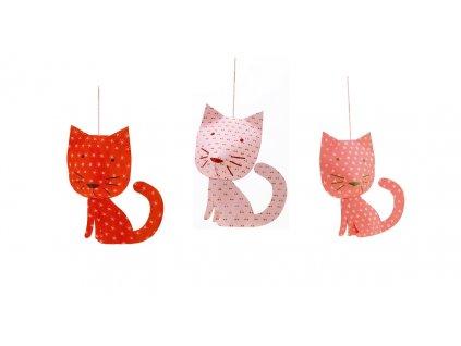DJECO Závěsná dekorace - Kočičky