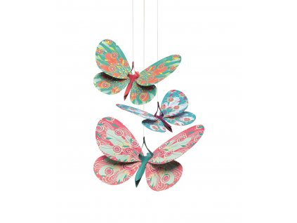 DJECO Závěsná dekorace - Motýlci