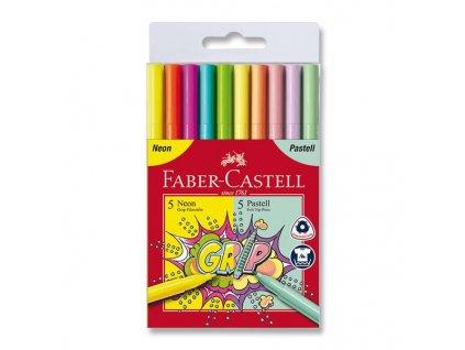 Dětské fixy Grip Neon/Pastel - 10 barev