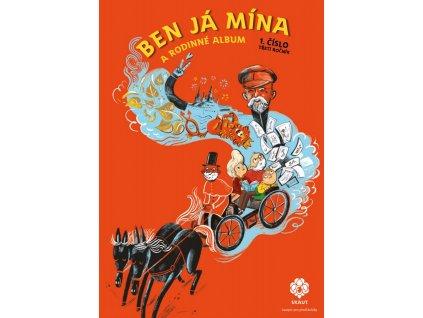Junák Časopis Ben Já Mína a rodinné album