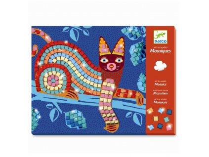 Kreativní sada - Mozaika - Kočka