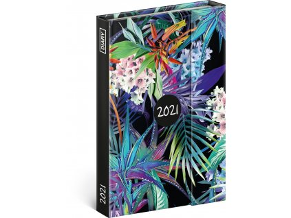 Týdenní magnetický diář Džungle 2021, 11 × 16 cm