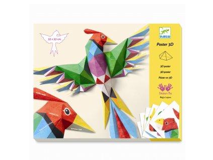3D dekorace Phoenix