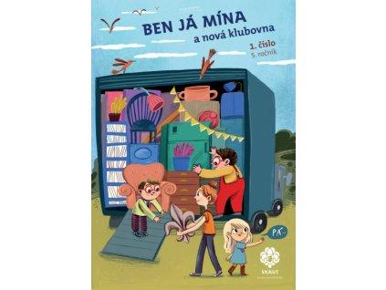 Časopis Ben Já Mína a nová klubovna + metodika