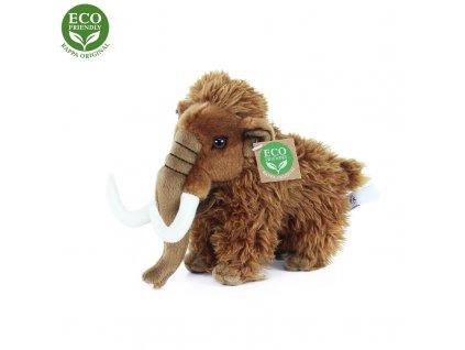 Plyšový mamut stojící, 17 cm, ECO-FRIENDLY
