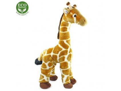 Plyšová žirafa, 40 cm, ECO-FRIENDLY