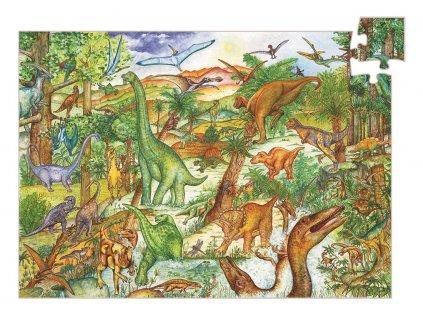 Puzzle - Dinosauři 100 dílků