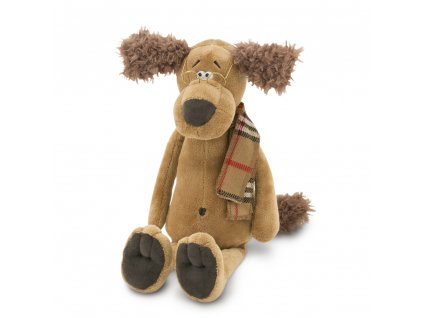 Pes DOC šála, brýle (25 cm - sedící/35cm)