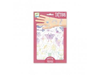 Tetování - Duhový šťastný svět