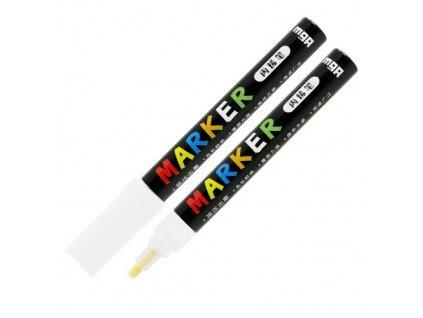 Popisovač M & G Acrylic Marker 2 mm akrylový, Whit